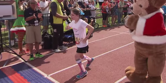 Young Runner With Cerebral Palsy Will Inspire You With Her Go-Get-'Em Attitude