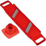 Kuhn Rikon Slim Mandoline Thick & Thin Slicer, Red