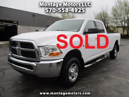 Used 2012 RAM 2500 SLT Crew Cab LWB 4WD for Sale in Scranton PA 18505 Montage Motors LLC