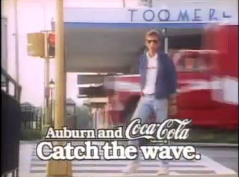 VIDEO: The story behind the 1986 Coke commercial filmed in Auburn | The War Eagle Reader