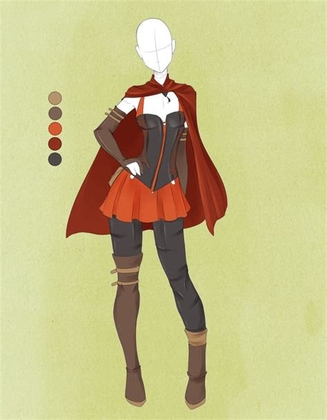 commission outfit june   violetkydeviantartcom