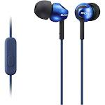 Sony MDR EX110AP In-Ear Earphones with Mic - Blue