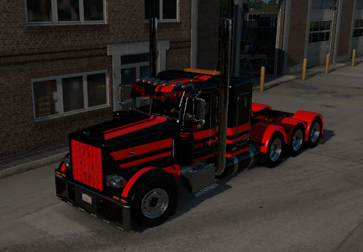 Stani Express Truck v 2.0 Viper2 and Outlaw and mudflap Mod -Euro Truck Simulator 2 Mods