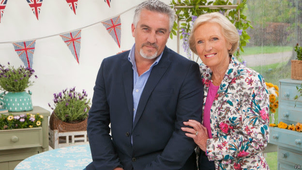 Mary y Paul Hollywood