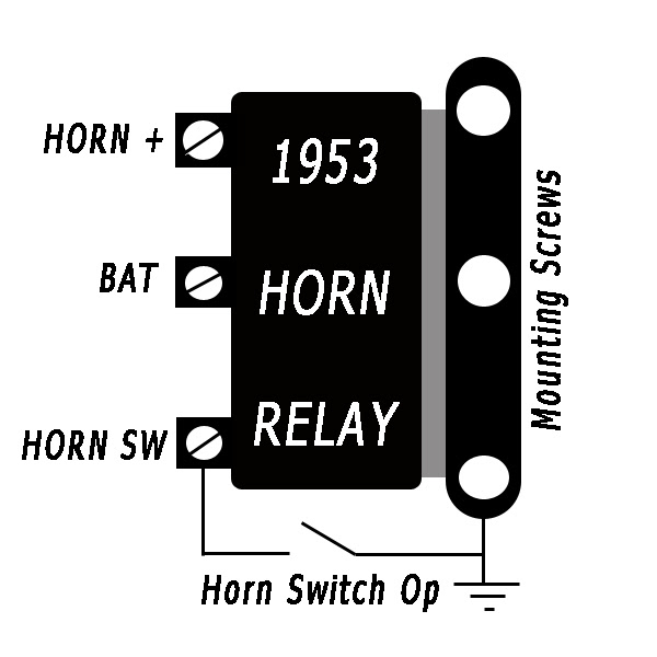 Chevy Horn Relay Wiring