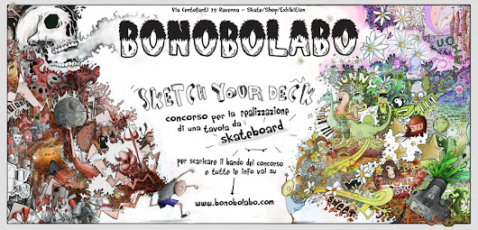 Concorso per grafica da skateboard | Sketch your deck | Bonobolabo