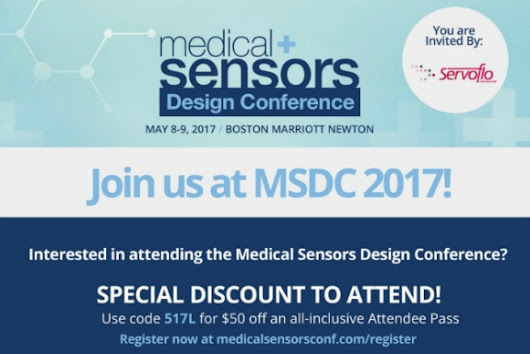 Medical Sensor Design Conference May 8-9, 2017