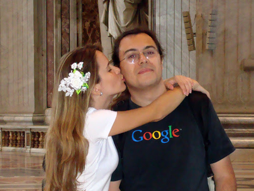 ila fox e ricbit casamento no vaticano em 2009