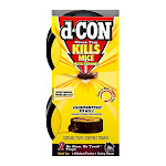D Con Mouse Trap, Kills Mice,Guaranteed to Kill, 2 Ea