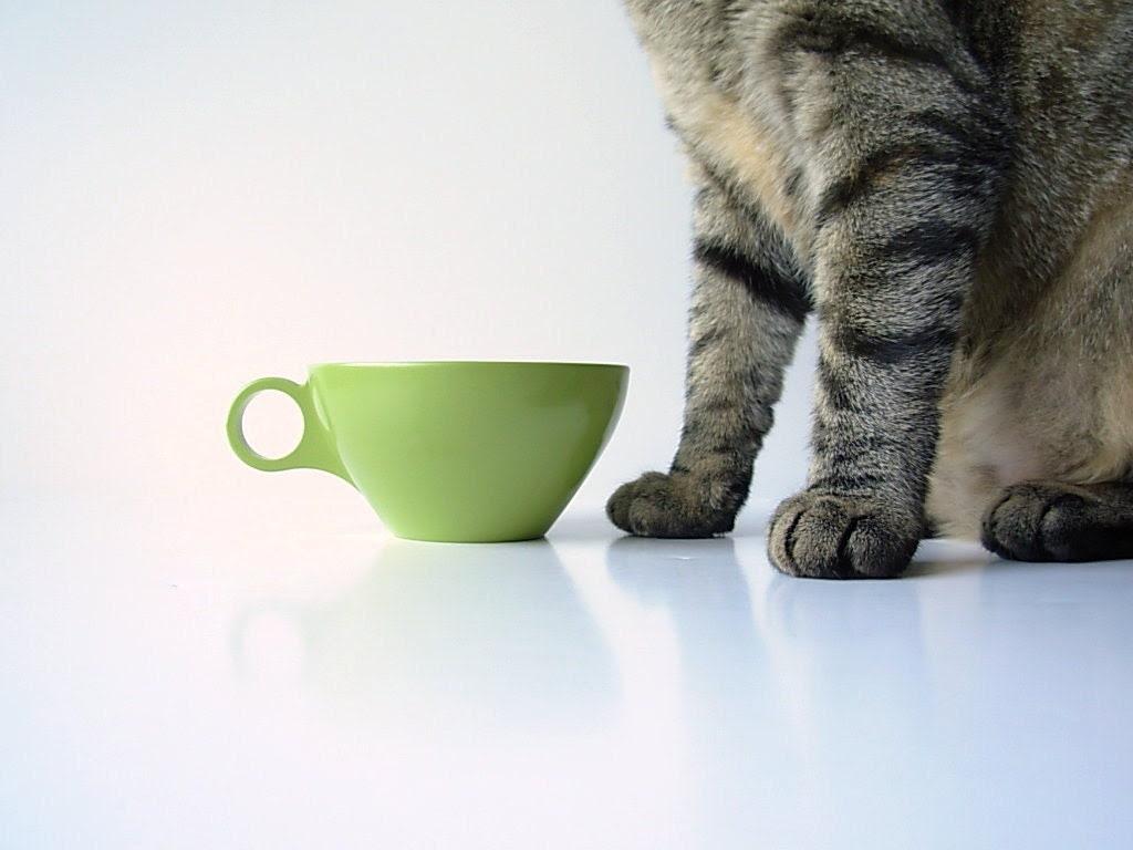 Green Melmac Cups