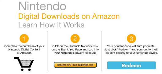 Nintendo Digital Downloads on Amazon