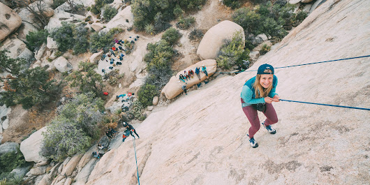 Here's What Indoor Climbers Should Know About Climbing Outside for the First Time | SELF