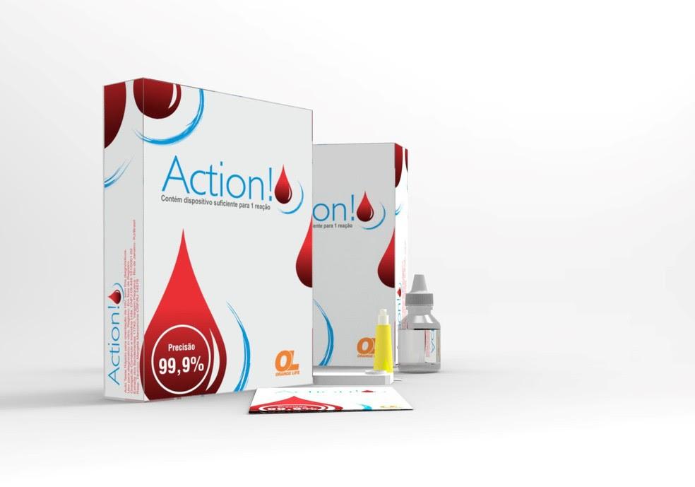 Teste rápido para detectar HIV é registrado pela Anvisa (Foto: Divulgação/ Orange Life)