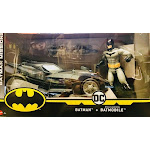 DC Batman Missions and Missile Launching Batmobile Vehicle