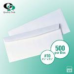 Quality Park 90020 #10 Business Envelope White, 500 ct