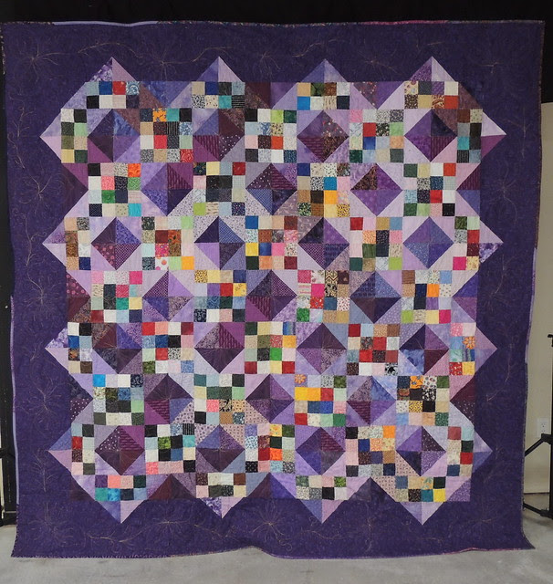 Wild Pansy Quilt