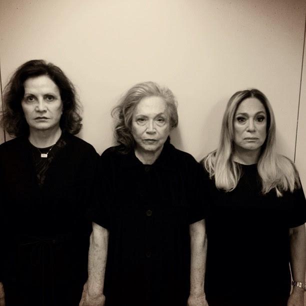 Rosamaria Murtinho, Nathalia Timberg e Susana Vieira  (Foto: Instagram/Reprodução)