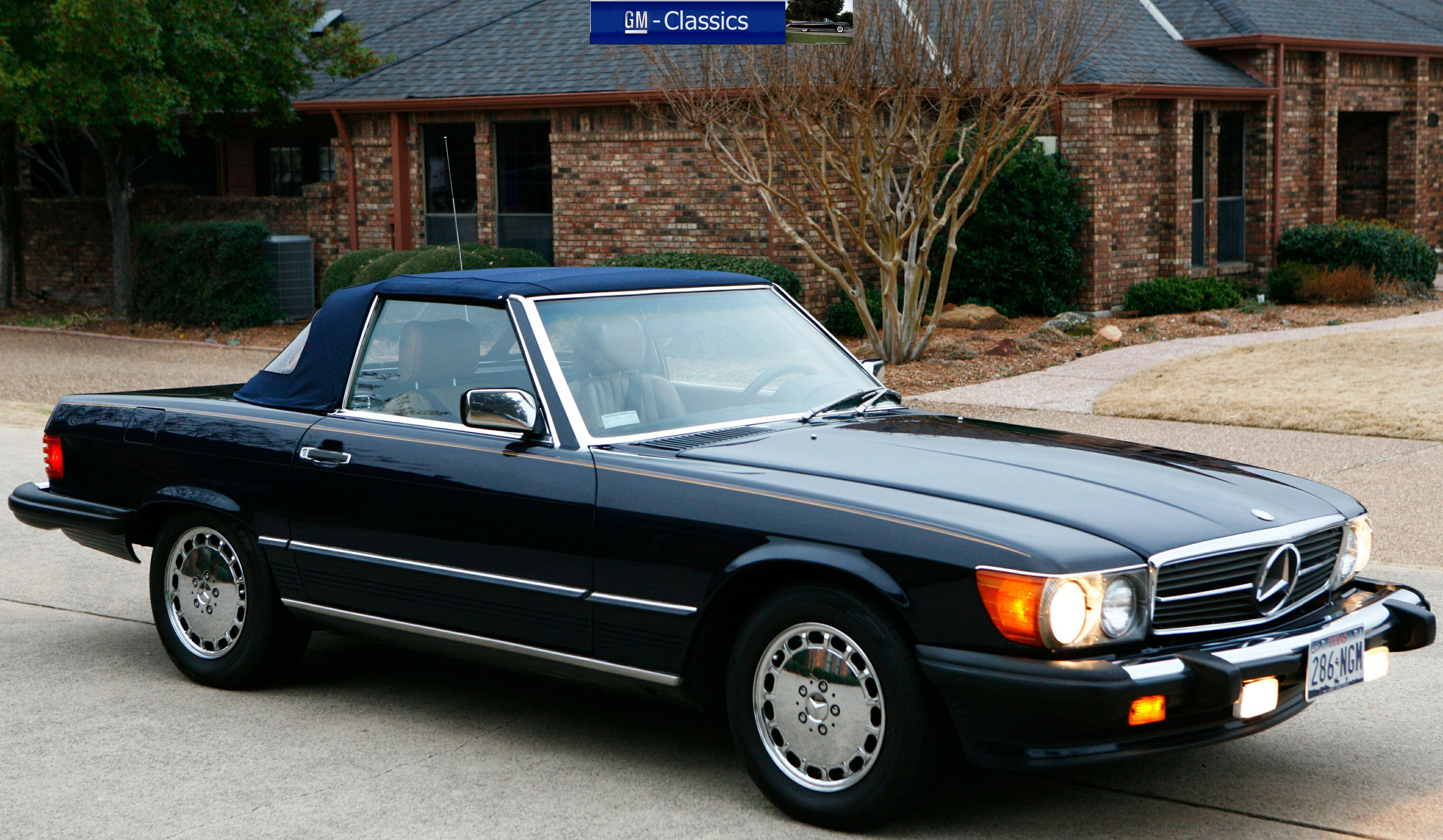 Purchase used 1987 Mercedes 560SL 560 SL Convertible ...