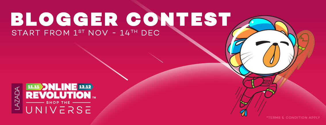 Lazada Online Revolution Blogger Contest 2017