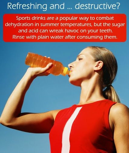Sports Drinks - good or bad for your teeth? - Burns Family Dentistry