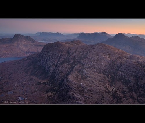 Assynt... In all it's dawn glory by Billy Currie