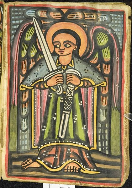 Saint with 2 swords