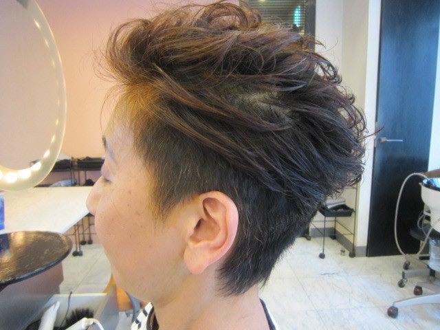 60代ヘアスタイル ショート - ミセスの髪型・ヘアスタイルを探す ヘアカタログ [キレイスタイル]