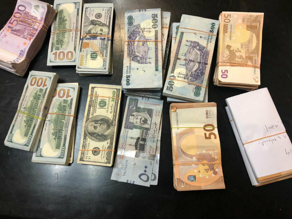 Three arrested with foreign currency worth Rs. 48 million at BIA