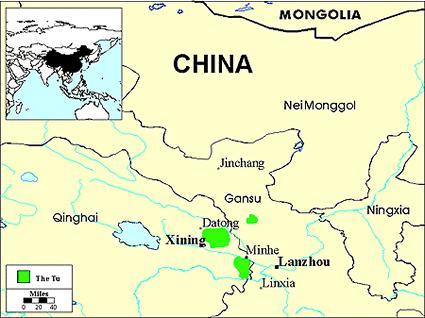 Tu in China