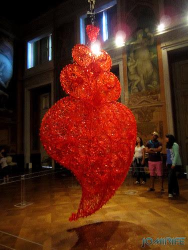 Joana Vasconcelos - Coração Independente Vermelho (1) aka Coração gigante vermelho [EN] Red Independent Heart - Red giant heart