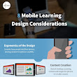 8 Mobile Learning Design Considerations Infographic - e-Learning Infographics