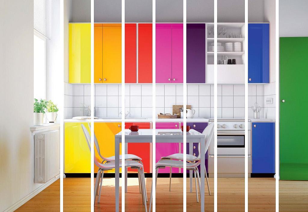 Jaki Kolor Wybrać Do Kuchni Meble Kuchenne I ściany W Kolorze