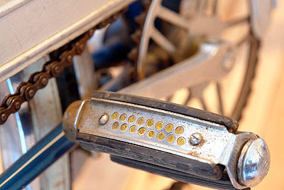 Reflector in Rabeneick pedal