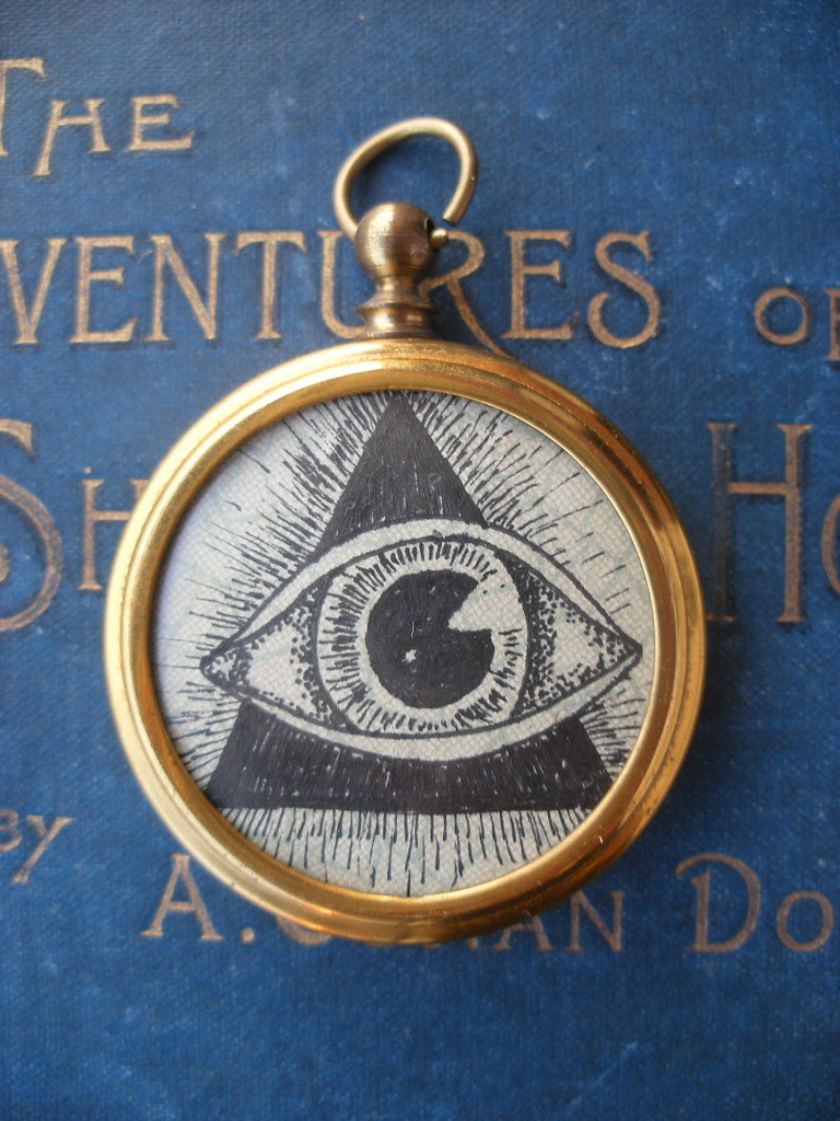 """Fob Pendant- """"All-seeing"""""""