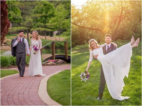 Fisherman's Inn Elburn Charming Spring Wedding Ceremony