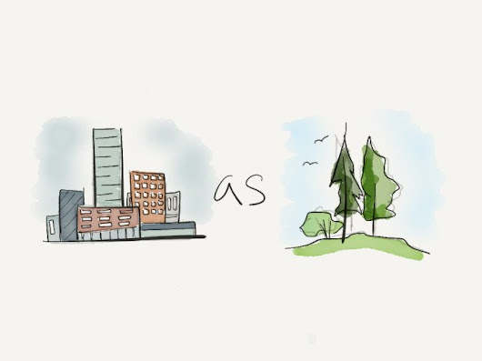The Nature Of Cities. Why Cities are Good For The Environment - DustinBajer.com