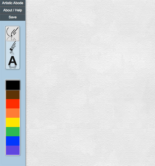 HTML5 Canvas Drawing Web App | Artistic Abode