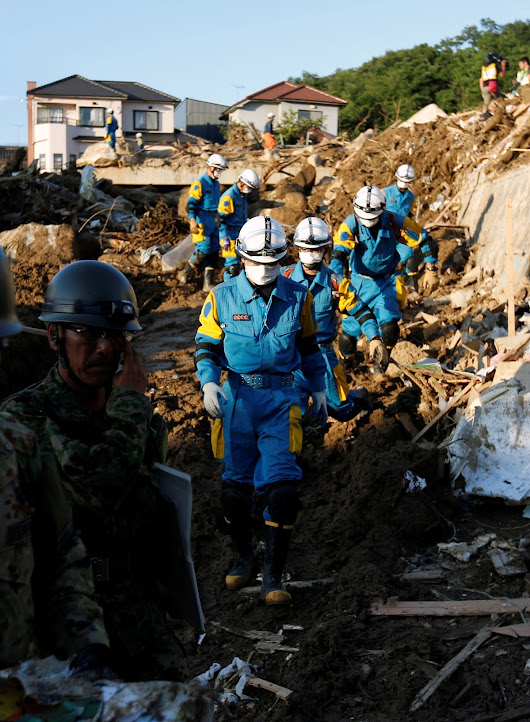 Death toll in Japan flood disaster passes 200 - Reuters TV