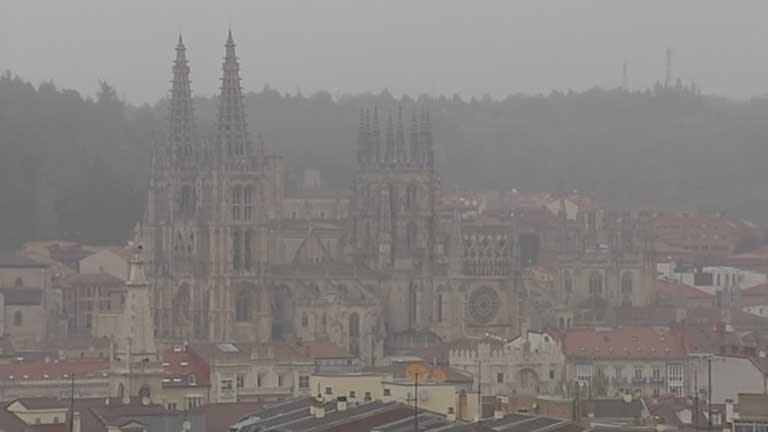 Lluvia fuerte en el nordeste de Cataluña, Cantábrico y Pirineos