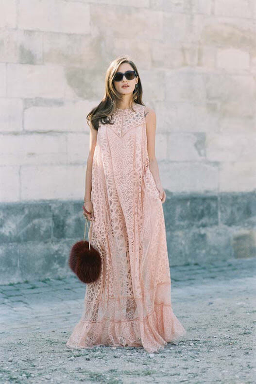 7 chic ways to wear lace dress