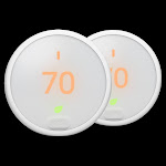Nest Thermostat E 2 Pack Bundle