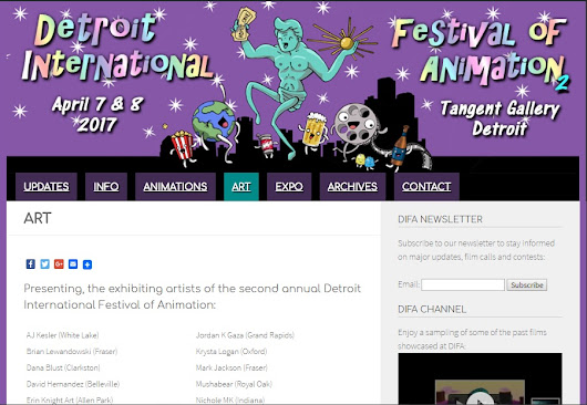 Art - Detroit International Festival of Animation