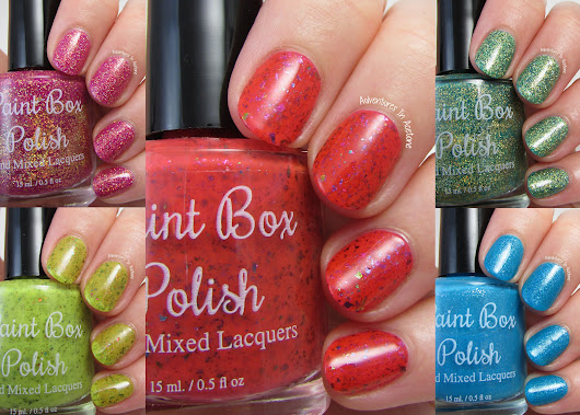 Paint Box Polish North Shore Collection Swatches