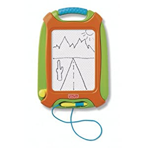 Fisher-Price Doodle Pro Travel Green