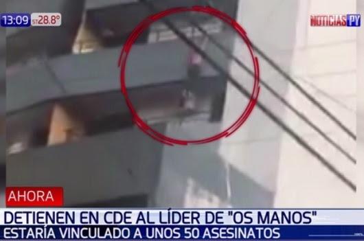 Resultado de imagen para Mujer se lanzó de balcones para no ser capturada