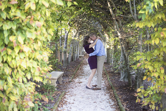 William and Mary Fall Engagement Session | Williamsburg Wedding Photographer | Megan and Will