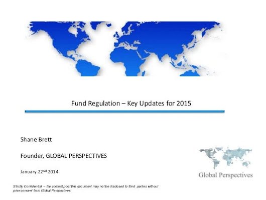 Fund Regulation - Global Perspectives' Key Updates for 2015