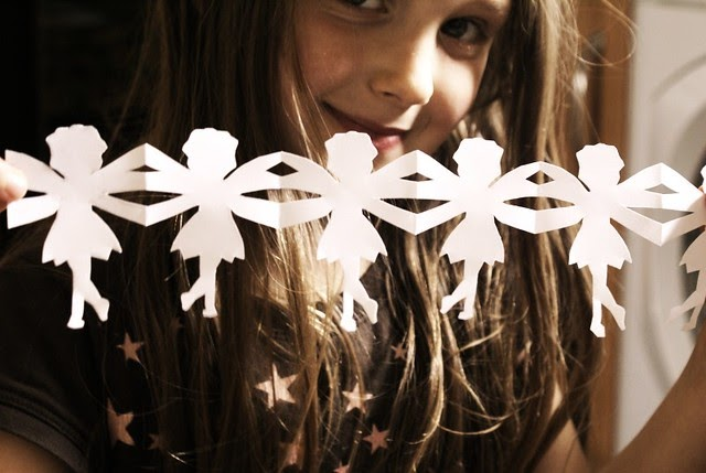 Convey Your Little Girl S Personality Through Her Bedroom: A Soulful Life: Make Whimsical Paper Chain Fairies
