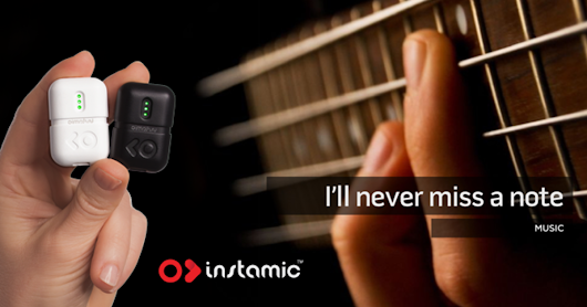 CLICK HERE to support Instamic - The Smart, Small, GoPro of Microphones