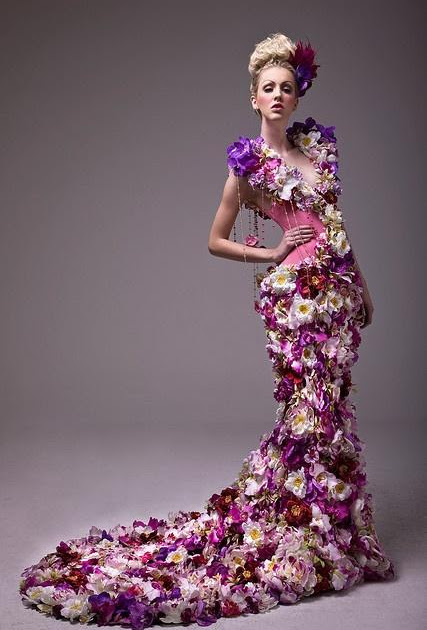 #148 Fashion of Flower style Dresses